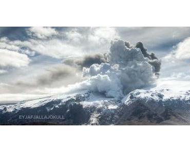 Asche-Wolke im Zeitraffer