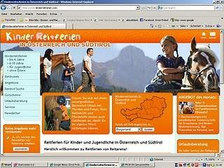Informationen über Kinder-Reitferien