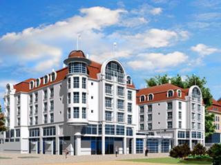 Urlaub in Polen, Kuren und schon werden Kurgäste in Zoppot zu Sportlern.