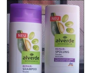 Review: Alverde Repair Haarpglegeserie