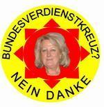 Parteiprotest: Bundesverdienstkreuz an Edith Schwab