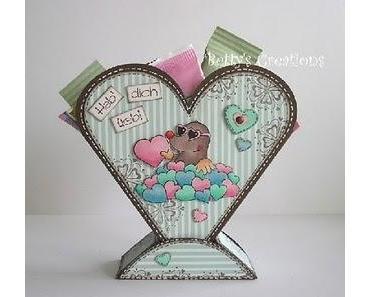 Geschenkherz zum Valentinstag/Muttertag
