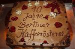Berliner Kaffeerösterei feierte 10jähriges Jubiläum