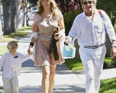Rod Stewart ist zum 8. Mal Vater geworden