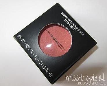 MAC Blush Peachykeen