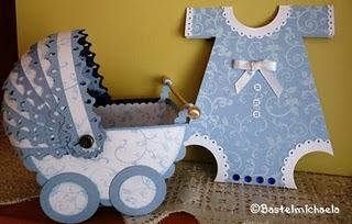 ...Baby Set in Blau...