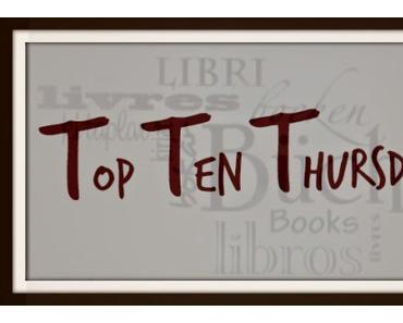 *Top Ten Thursday* 10 Bücher von meiner Wunschliste
