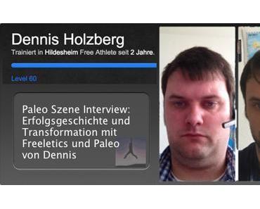 Paleo Szene Interview: Erfolgsgeschichte und Transformation mit Freeletics und Paleo von Dennis