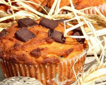Healthy & Delicious : Kokos Schoko Muffins