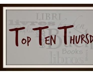 10 Bücher, die ganz oben auf der Wunschliste stehen || Top Ten Thursday
