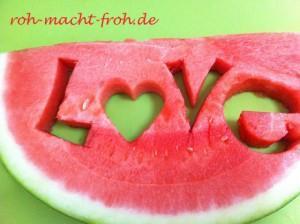 Spaß mit Wassermelone