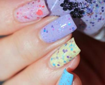 Pastel Glitter Crelly Skittle