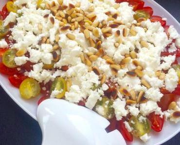 Tomatensalat mit Vanille und Feta