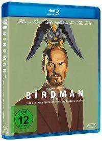 Shirts & Blu-ray zu BIRDMAN ODER (DIE UNVERHOFFTE MACHT DER AHNUNGSLOSIGKEIT) mit Michael Keaton