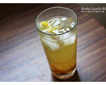 Rezept: Yuzu-Zitronen-Ingwer-Limonade