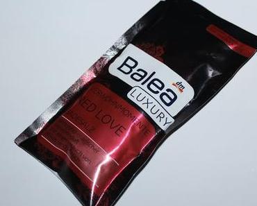 Gebadet: Balea Luxury Verwöhnmomente Red Love Badesalz + Warum ich keine Eyecandyschminkitussi sein will