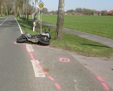 Tödlicher Motorradunfall Schotten
