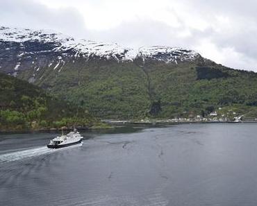 Kreuzfahrt: Mit der MSC Sinfonia im Geirangerfjord