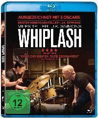 Blu-ray zu WHIPLASH mit J. K. Simmons & Miles Teller