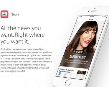 Apple News auf Deutsch?