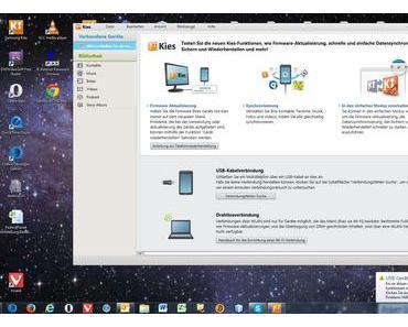 Datenrettung mit Samsung Kies