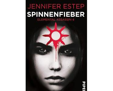 [Rezension] Spinnenfieber: Elemental Assassin 4 - Jennifer Estep