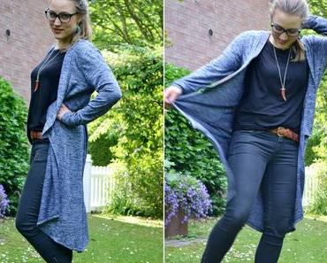 Outfit: Long Cardigan von C&A