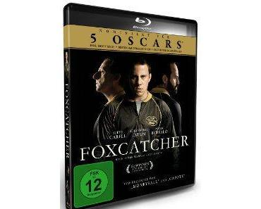 Blu-ray zu FOXCATCHER mit Steve Carell, Channing Tatum & Mark Ruffalo