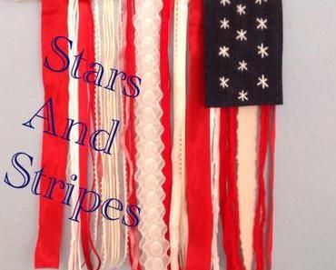 Blau, Weiß, Rot – oder – Warum Lilamalerie Stars and Stripes zeigt