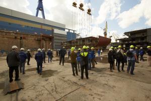 TUI Cruises weiter auf Expansionskurs – Kiellegung der Mein Schiff 5 und Produktionsstart der Mein Schiff 6