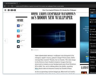 Neue Windows 10 Preview Build 10158 mit Browser Edge