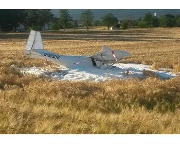 Flugzeugabsturz Porta Westfalica – Pilot verletzt