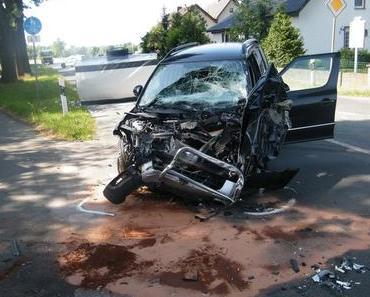 Schwerer Autounfall Paderborn