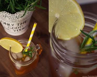 Zitronen-Rosmarin Eistee