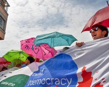 Nein! Oxi! No! zur Sparpolitik – Ja zur Demokratie!