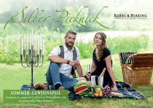 Robbe & Berking Sommer-Gewinnspiel Silber-Picknick