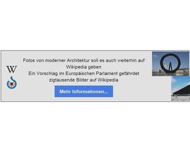 Auch Wikipedia kämpft gegen Fotoverbot bei Gebäuden