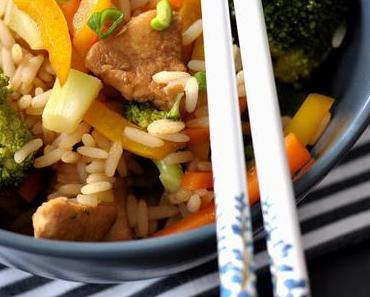 Easy Asia, Teil 3a mit Brokkoli-Reis-Salat