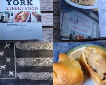 Lilamalerie and NY-Streetfood – oder – Amerikanische Küche mal anders: Knishes