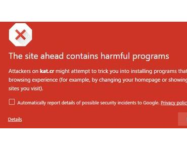 Googles Browser Chrome hat Torrent-Seiten geblockt