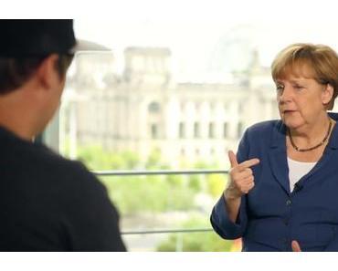 Angela Merkel betritt NEULAND // LeFloid befragt die Kanzlerin // #NetzFragtMerkel // Video
