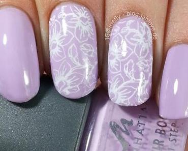 """[Nails] Florales Stamping mit Manhattan Colour Boost """"203"""""""