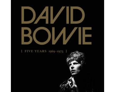 Fünf Jahre David Bowie 1969 bis 1973