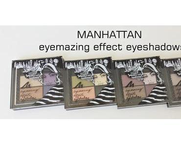 Manhattan eyemazing effect eyeshadows
