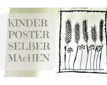 crafting friday - Poster DIY und Blümchen für Helga