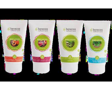 benecos Bodylotion; Aprikose & Holunderblüte, Aloe Vera, Granatapfel & Rose