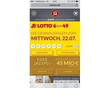 Lotto spielen – online von überall
