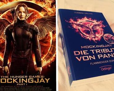 [Buch gegen Film] Flammender Zorn/Mockingjay Teil 1