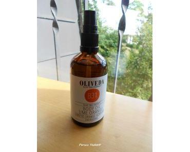OLIVEDA Körperöl Limette Orange