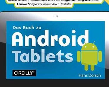 Das Buch zu Android Tablets in der Bücherecke